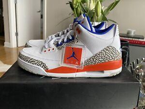 "Deadstock Jordan 3 Retro - ""Knicks"" - size 13 New W/box"