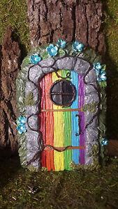 Fairy door, Large fairy door, Rainbow door