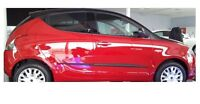 Moulding Side Protector Door Protection for Lancia Ypsilon Hatchb/5-doors 2012-