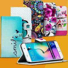 étui portable pour Samsung Galaxy RABATTABLE POCHETTE COQUE MOTIF PORTEFEUILLE