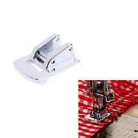 Sliver Rolled Hem Curling Sewing Presser Foot For Sewing Machine Singer JFLA
