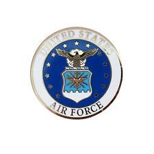 US Air Force Logo Pin 1.5 inch JACKET VEST hat  PIN
