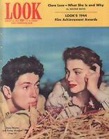 Look January 25 1944 Anne Baxter Claire Luce Maxine Davis  010219DBE