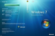 Windows 7 Professional  Activation Key + 1 Boot USB 64 bit