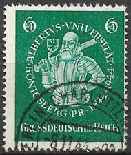 Germany (Third Reich) 1944 Used - 400th Annivers Albertus University Koenigsberg