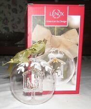 Lenox Crystal Wonder Nativity Ornament American by Design - in Box