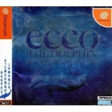 USED ECCO the Dolphin SEGA DREAMCAST JAPAN JP JAPANESE IMPORT