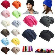 Fashion Men Women Slouch Slouchy Beanie Ski Hat Oversized Knit Hip Hop Baggy Cap