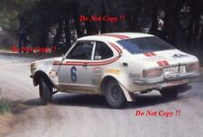 Hannu Mikkola Toyota Corolla Levin TE 27 Acropolis Rally 1976 Photograph 1