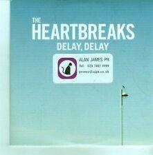 (CX1000) The Heartbreaks, Delay, Delay - 2012 DJ CD