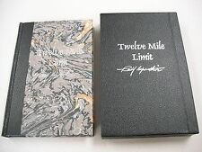 """2002 SIGNED/LIMITED ED """"TWELVE MILE LIMIT"""" BY RANDY WHITE! ONLY 600 COPIES!"""
