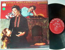 Martha Schlamme sings Jewish Folk Songs LP, Volume 2