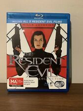 RESIDENT EVIL 1-5 COMPLETE COLLECTION 5 DISC BLU-RAY