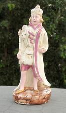 Vintage Old Rare Beautiful English King Porcelain Ceramic Figure Statue Japan?