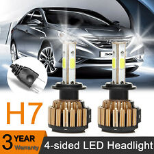 H7 LED Headlight 300W 30000LM Lamp Bulbs 6000K Super Bright For Hyundai Sonata