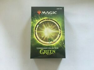 1x MTG COMMANDER COLLECTION GREEN *Sealed* WOTC 2020