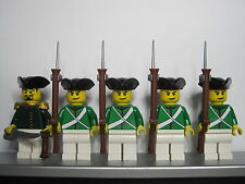 Lego PIRATES NAPOLEONIC WARS RUSSIAN Crimwar Infantry Soldiers MINIFIGS
