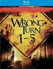 Wrong Turn 1-5 Blu-ray New DVD! Ships Fast!