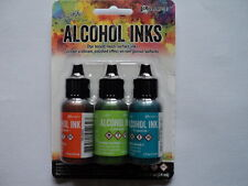TIM HOLTZ Adirondack Alcohol Ink 3 Pk 'SPRING BREAK' BNIP **LOOK**