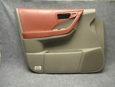 2003-2007 Nissan Murano LH Front Power Door Panel Cabernet & Gray OEM 30455
