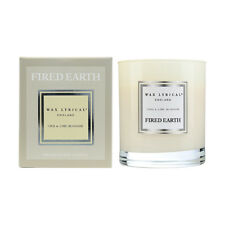 Wax Lyrical Fired Earth Boxed Candle Chai & Lime Blossom FE0203