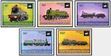 Timbres Trains Haute Volta PA155/9 ** lot 23655