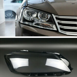 Right Headlamp Clear Lens Auto Shell Cover For Volkswagen Passat B7L 2012-2015