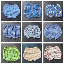 NWOT Icky Baby Cotton Print Summer Diaper Covers Bloomers Shorts 0-6 Months