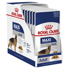 12 x Royal Canin Maxi Large Adult Wet Dog Food - 15 Months+ 26-44kg adult - 140g
