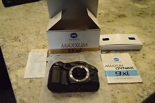 New Never Unused Minolta Maxxum DYNAX 9xi Body Only, Accessories sold separately