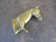 Ancien cheval chevaux bronze coffre fort fichet fils piece de coffre