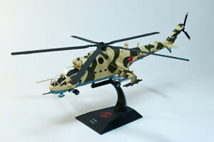 Scale model helicopter 1:72, MI-24V