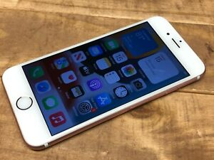Apple iPhone 6s - 64GB - Rose Gold (Unlocked) A1633 (CDMA GSM) For Parts - Read