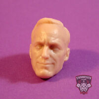 "ML095 Phil Coulson Avengers Custom Cast head use with 6"" Marvel Legends figures"