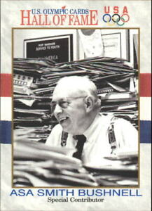 1991 Impel U.S. Olympic Hall of Fame #78 Asa Smith Bushnell