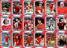 Liverpool FC 1974 FA Cup winners football trading cards