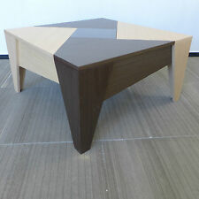 Rechteckige moderne Couchtische aus Holzfurnier