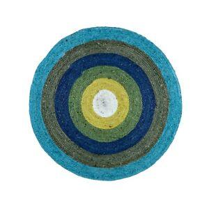 Indian Handmade Area Rug Jute Round Kitchen Throw Rugs Modern Flooring Carpet