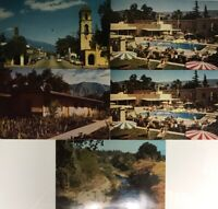 Lot 5 Sepsie Creek & Oaks Hotel and Bungalows in Ojai, CA Vintage Postcards