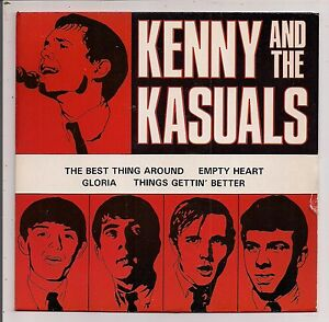 (KENNY & THE KASUALS-S/T)-Garage/Psych-Ltd Ed-E0-EP