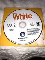 Shaun White Skateboarding Nintendo Wii Sports System Game Disc Only TESTED