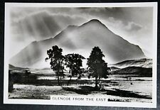 GLEN COE   SUNBEAMS   Highland Scotland   Superb Vintage 1930's Photocard