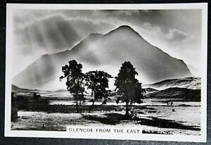 GLEN COE   SUNBEAMS   Highland Scotland   Superb Vintage 1930's Photocard
