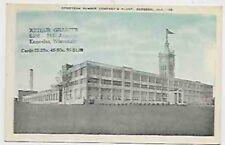 1930s-40s Gadsden Alabama Goodyear Rubber postcard, unusual provenance