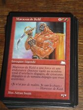 MTG Magic the Gathering MARAXUS DE KELD Weatherlight FR RARE NEW