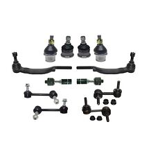 12 Pc Suspension Kit for Trailblazer Envoy Ascender Bravada Tie rods Sway Bar