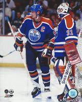 "Wayne Gretzky & Grant Fuhr Edmonton Oilers NHL Photo (Size: 8"" x 10"")"