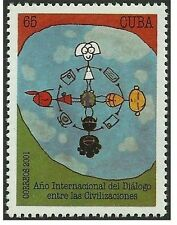 2001 Cba, Dialogue Among Civilizations. Rare 1V, MNH