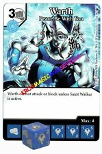 072 WARTH Peace be with you - Common - WAR OF LIGHT - DC Dice Masters