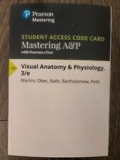 Mastering A&P - Access Card - Visual Anatomy & Physiology 3rd Edition